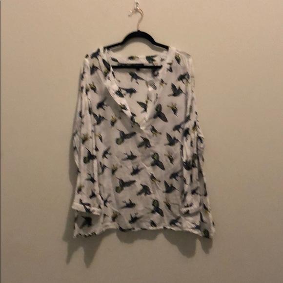 Lane Bryant Tops - Long sleeve cotton, Lane Bryant blouse